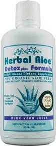 Aloe Life Herbal Aloe Detox Plus Formula - 32 fl oz