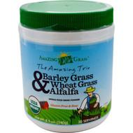Amazing Grass, Amazing Trio, Barley Grass, Wheat Grass & Alfalfa, 8.5 oz (240 g)