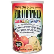 Nature's Plus, Vegetarian Fruitein Rainbow, High Protein Energy Shake, 1.3 lbs (576 g)