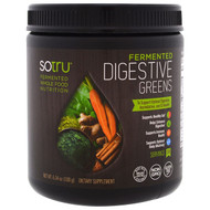 SoTru, Fermented, Digestive Greens, 6.34 (180 g) (Discontinued Item)