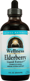 Source Naturals, Wellness Elderberry Liquid Extract - 8 fl oz