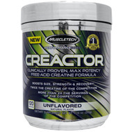 Muscletech, Creactor, Creatine Formula, Unflavored, 8.29 oz (235 g)
