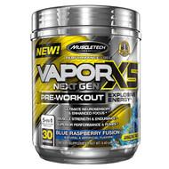 Muscletech, VaporX5 Next Gen, Pre-Workout, Blue Raspberry Fusion, 9.40 oz (266 g)