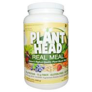 Genceutic Naturals, Plant Head, Real Meal, Vanilla, 2.3 lb (1050 g)