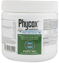 Phycox, Canine Joint Support Small Bites - 120 Soft Chews