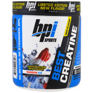 BPI Sports, Best Creatine, Limited Edition, Pro Strength Creatine Blend, Rainbow Ice, 10.58 oz (300 g)