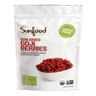 Sunfood, Organic, Sun-Dried Goji Berries, 1 lb (454 g)