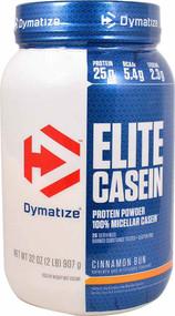 Dymatize Elite Casein Cinnamon Bun - 2 lbs