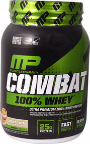 MusclePharm Combat 100% Whey Cookies 'N' Cream - 2 lbs