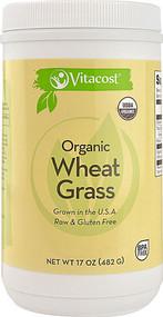 Vitaco, Organic Wheat Grass - Powder - 17 oz (482 g)