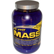 Maximum Human Performance, Up Your Mass, Weight Gainer, Fudge Brownie, 2 lbs (931 g)