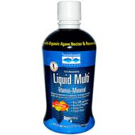 Trace Minerals Research Liquid Multi Vita-Mineral Natural Orange Mango -- 30 fl oz