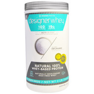 Designer Protein, Designer Whey, with Acti-Blend, Unflavored, 2 lbs (908 g)