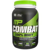MusclePharm, Combat 100% Whey, Chocolate Milk, 32 oz (907 g)