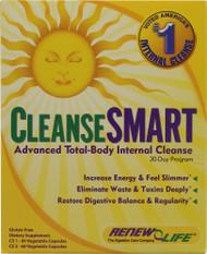 Renew Life, CleanseSMART Advanced Total-Body Internal Cleanse - 1 Kit