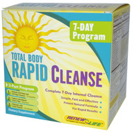 Renew Life Rapid Cleanse - Total Body Cleanse - Digestive Detox with Fiber 7 Day Program -- 1 Kit
