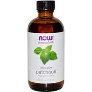 Now Foods, Essential Oils, Patchouli, 4 fl oz (118 ml)