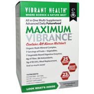 Vibrant Health, Maximum Vibrance, 10 Packets, 0.83 oz (23.5 g) Each