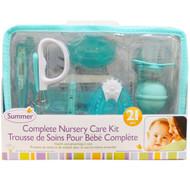 Summer Infant, Complete Nursery Care Kit, Blue, 21 Pieces