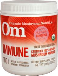 OM Organic Mushroom Nutrition Immune - 7.14 oz