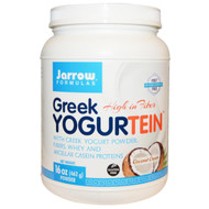 Jarrow Formulas, Greek Yogurtein, Coconut Cream, 16 oz (462 g)