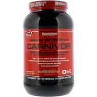 MuscleMeds, Carnivor, Bioengineered Beef Protein Isolate, Chocolate Peanut Butter, 2.2 lbs (1,008 g)