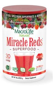 Macro Life Naturals Miracle Reds Berry - 10 oz