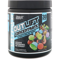 Nutrex Research, Outlift Concentrate, Explosive Performance Pre-Workout, Sour Shox, 6.8 oz (192 g)