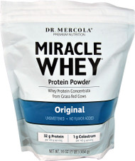 Dr. Mercola Miracle Whey Protein Powder Original - 1 lb