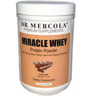 Dr. Mercola Miracle Whey Protein Powder Chocolate - 1 lb