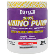 Cutler Nutrition, Amino Pump, Fruit Punch, 9.3 oz (263 g)