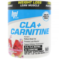 BPI Sports, CLA + Carnitine, Watermelon Freeze, 11.29 oz (320 g)