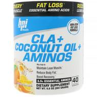 BPI Sports, CLA + Coconut Oil + Aminos, Orange Freeze, 9.8 oz (280 g)