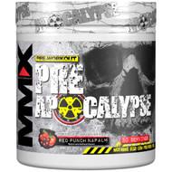 MuscleMaxx, PRE APOCALYPSE, Pre-Workout, Arginine + Taurine + Creatine + Beta-Alanine, Red Punch Napalm, 11.28 oz (320 g)