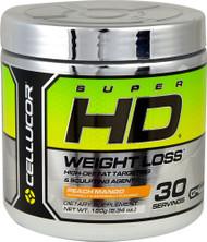 Cellucor, Super HD, Weight Loss, Peach Mango, 6.34 oz (180 g)