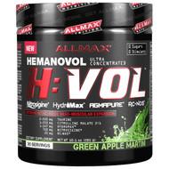 ALLMAX Nutrition, H:VOL, Nitric Oxide Pre-Workout + Vascular Blood Volumizer, Green Apple Martini, 10.1 oz (285 g)