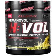 ALLMAX Nutrition, H:VOL, Nitric Oxide Pre-Workout + Vascular Blood Volumizer, Pineapple Mango, 10.1 oz (285 g)