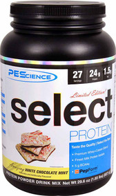 PEScience Select Protein White Chocolate Mint - 27 Servings