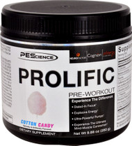 PEScience Prolific Pre-Workout Cotton Candy - 20 Servings