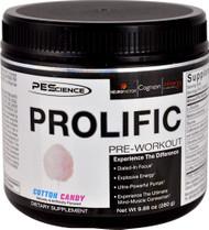 PEScience Prolific Pre-Workout Cotton Candy - 20 Servings