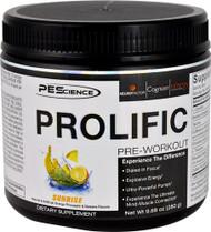 PEScience Prolific Pre-Workout Sunrise - 20 Servings