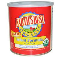 Earths Best, Organic Infant Formula, with Iron, 23.2 oz (658 g)
