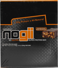 Elisabeth Hasselbecks, NoGii High Protein Bar,  Chocolate Peanut Butter Caramel Crisp - 12 Bars