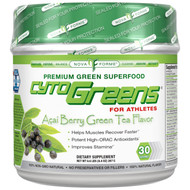 NovaForme, CytoGreens, Premium Green Superfood for Athletes, Acai Berry Green Tea Flavor, 9.4 oz (267 g)