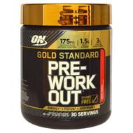 Optimum Nutrition Gold Standard Pre-Workout Fruit Punch -- 30 Servings