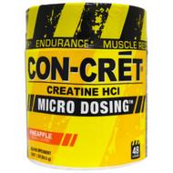 Con-Cret, Creatine HCl, Micro Dosing, Pineapple, 1.78 oz (50.5 g)