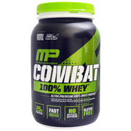 MusclePharm, Combat 100% Whey Protein, Strawberry, 2 lbs (907 g)