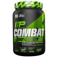 MusclePharm, Combat 100% Whey, Cappuccino, 32 oz (907 g)
