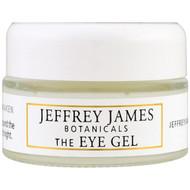 Jeffrey James Botanicals, The Eye Gel, Soothe Renew Awaken, 0.5 oz (15 ml)