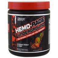 Nutrex Research Labs, Black Series, Hemo-Rage Underground, Fruit Punch, 8.6 oz (243 g)